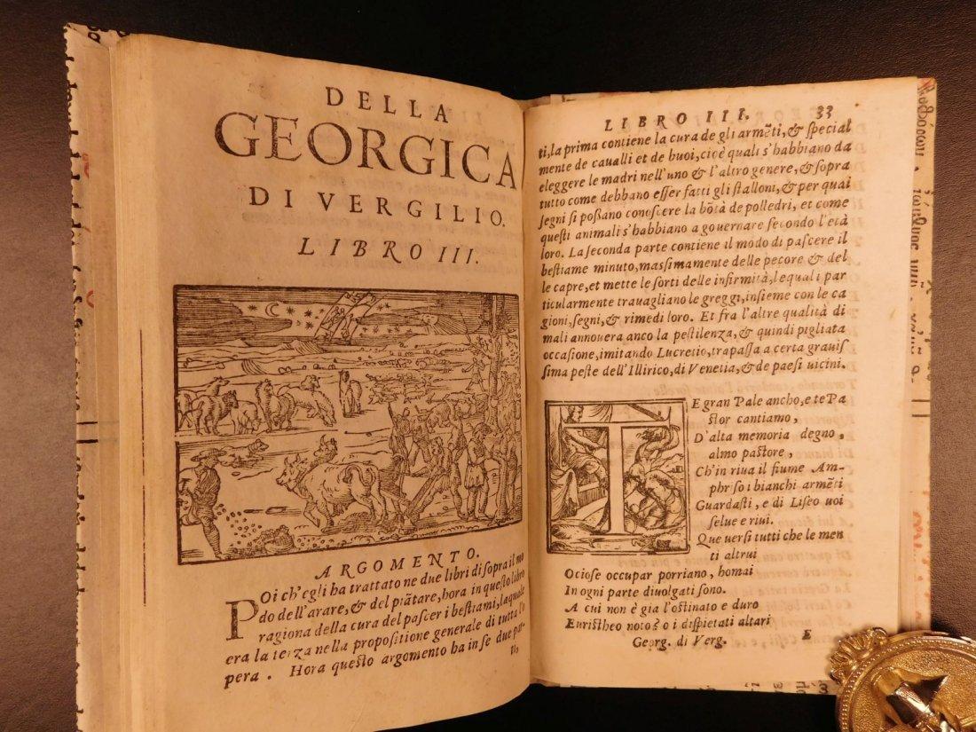 1562 VIRGIL Georgics Mythology Pastoral Poems Latin - 9