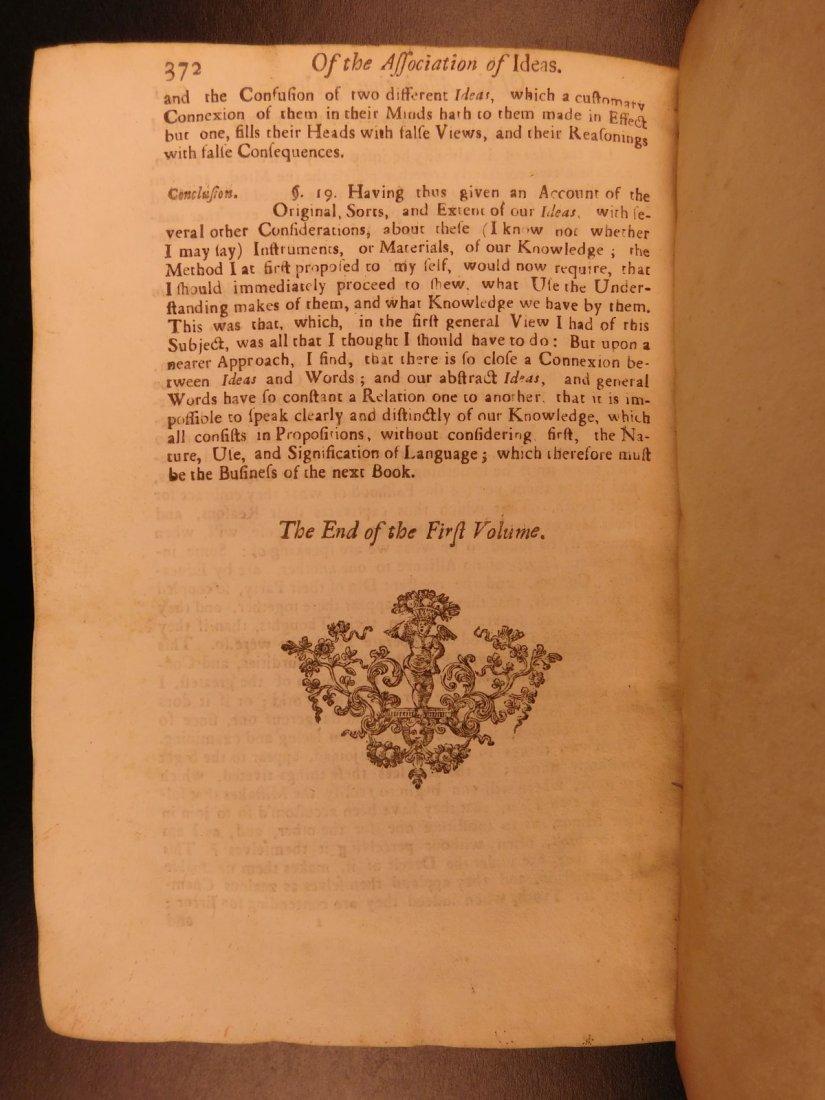 1721 John Locke Essay Concerning Human Understanding - 10