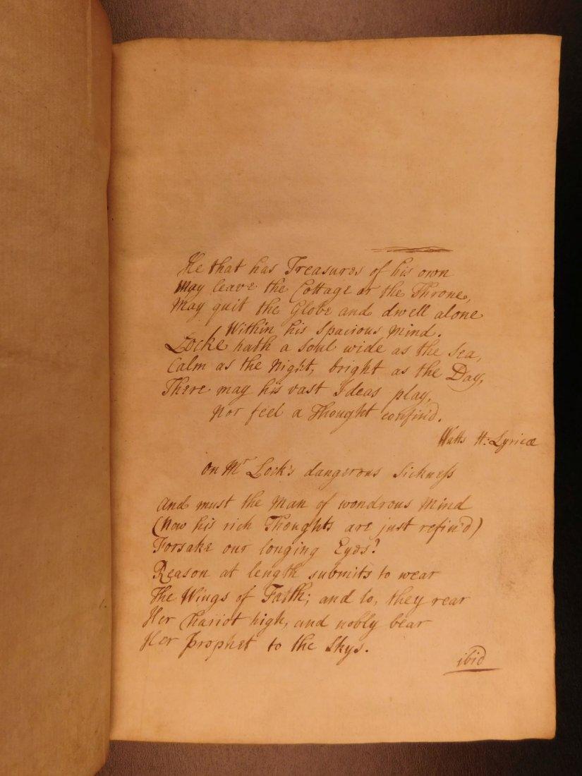 1721 John Locke Essay Concerning Human Understanding - 2