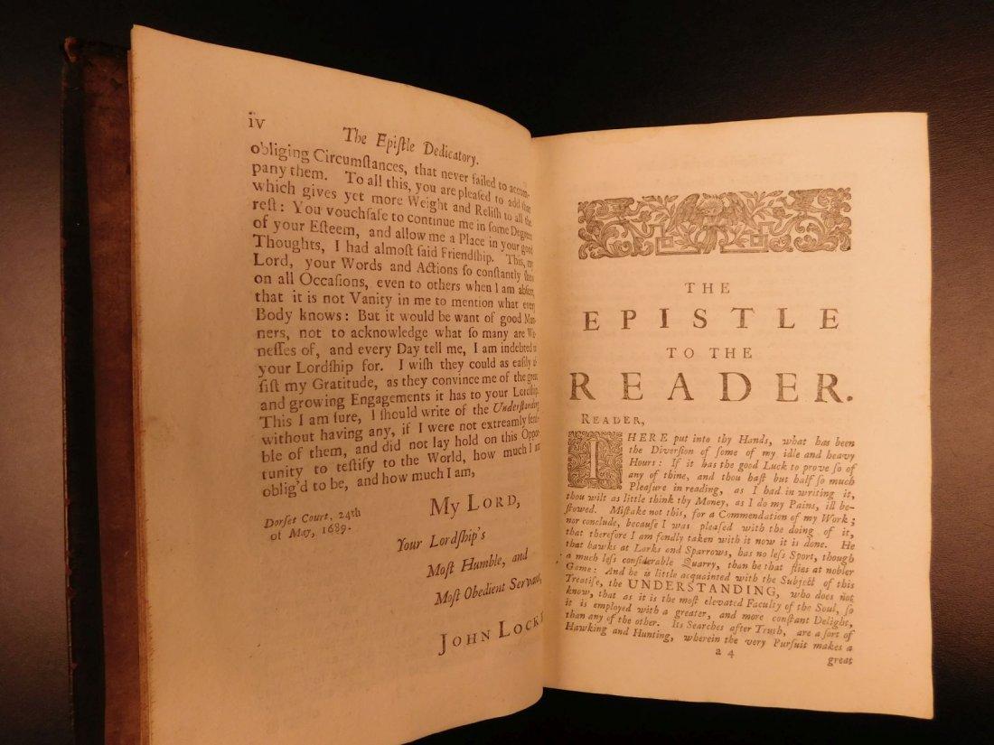 1721 John Locke Essay Concerning Human Understanding - 5