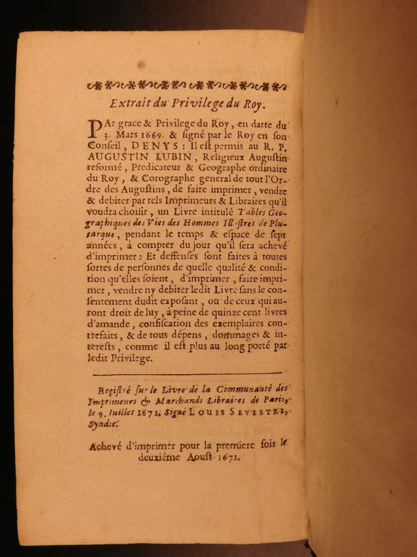 1671 Concordance to Plutarch Lives Rome Julius Caesar - 10