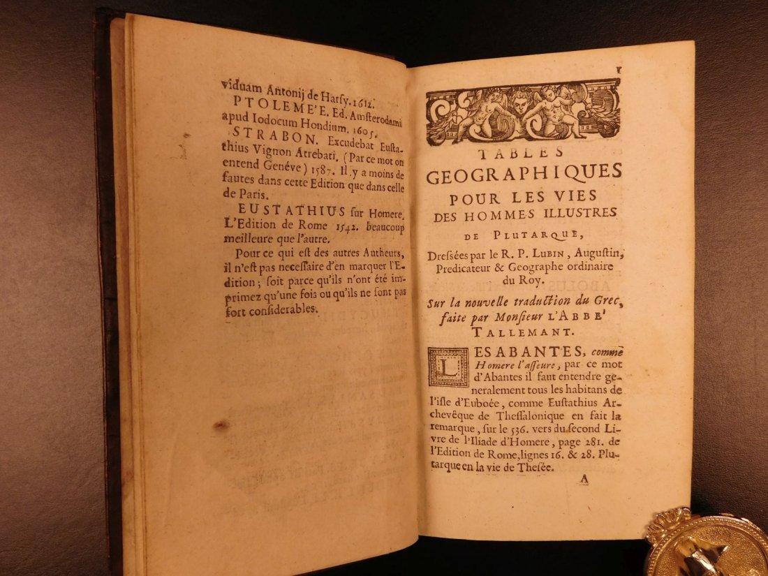 1671 Concordance to Plutarch Lives Rome Julius Caesar - 4