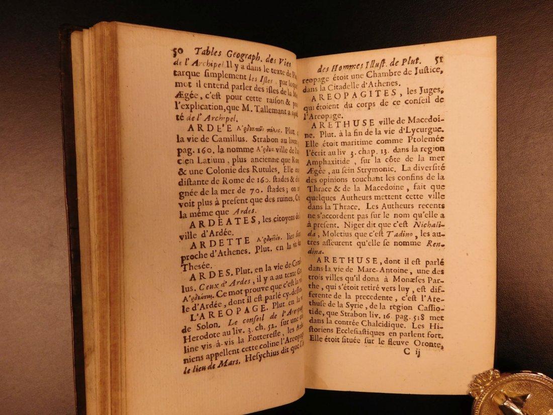 1671 Concordance to Plutarch Lives Rome Julius Caesar - 5