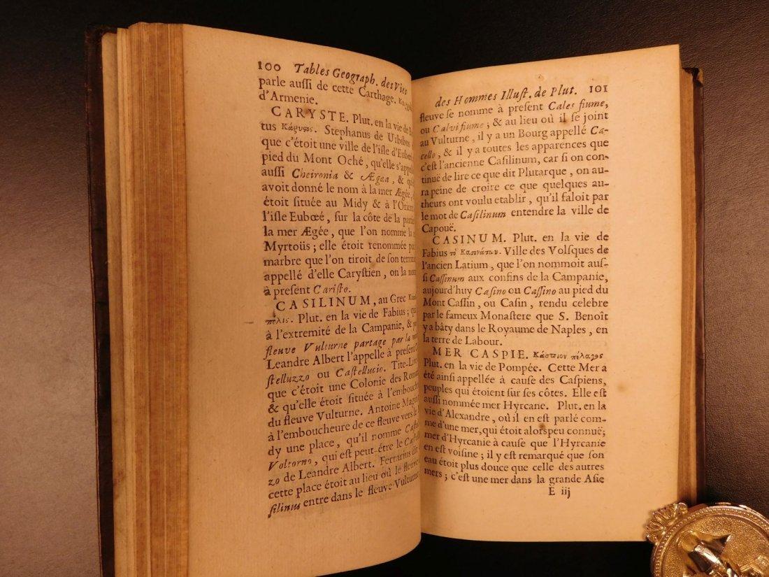 1671 Concordance to Plutarch Lives Rome Julius Caesar - 6