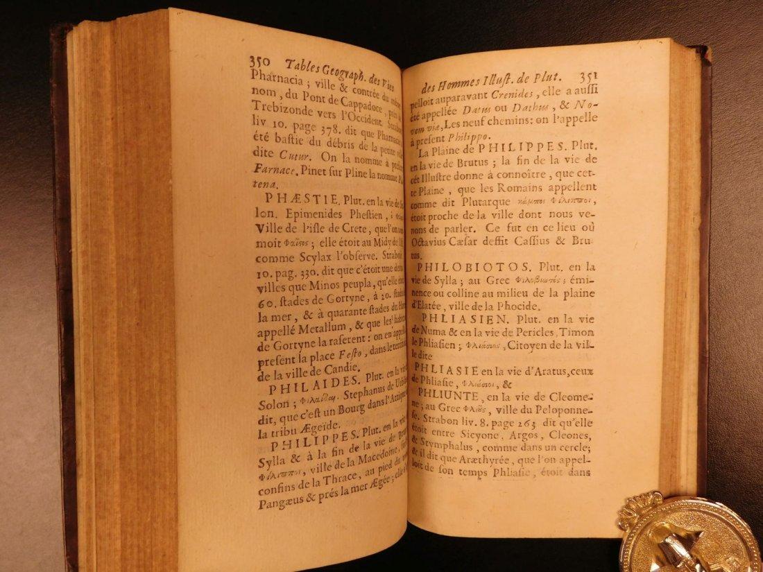 1671 Concordance to Plutarch Lives Rome Julius Caesar - 7