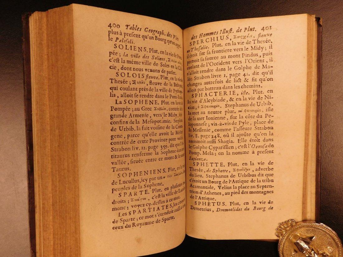 1671 Concordance to Plutarch Lives Rome Julius Caesar - 8