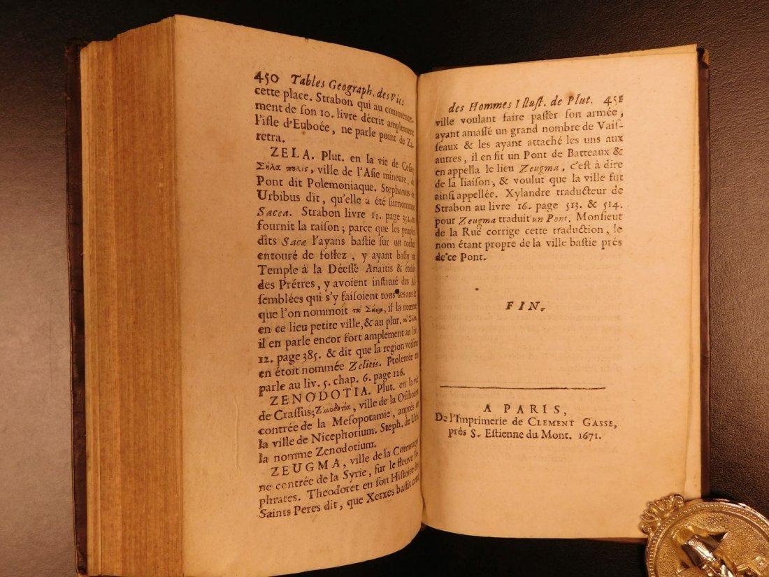 1671 Concordance to Plutarch Lives Rome Julius Caesar - 9