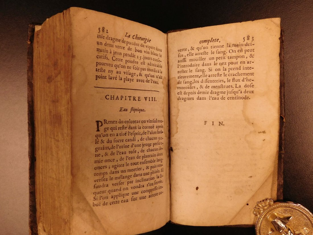 1698 Complete Surgery Le Clerc French Chirurgie - 10