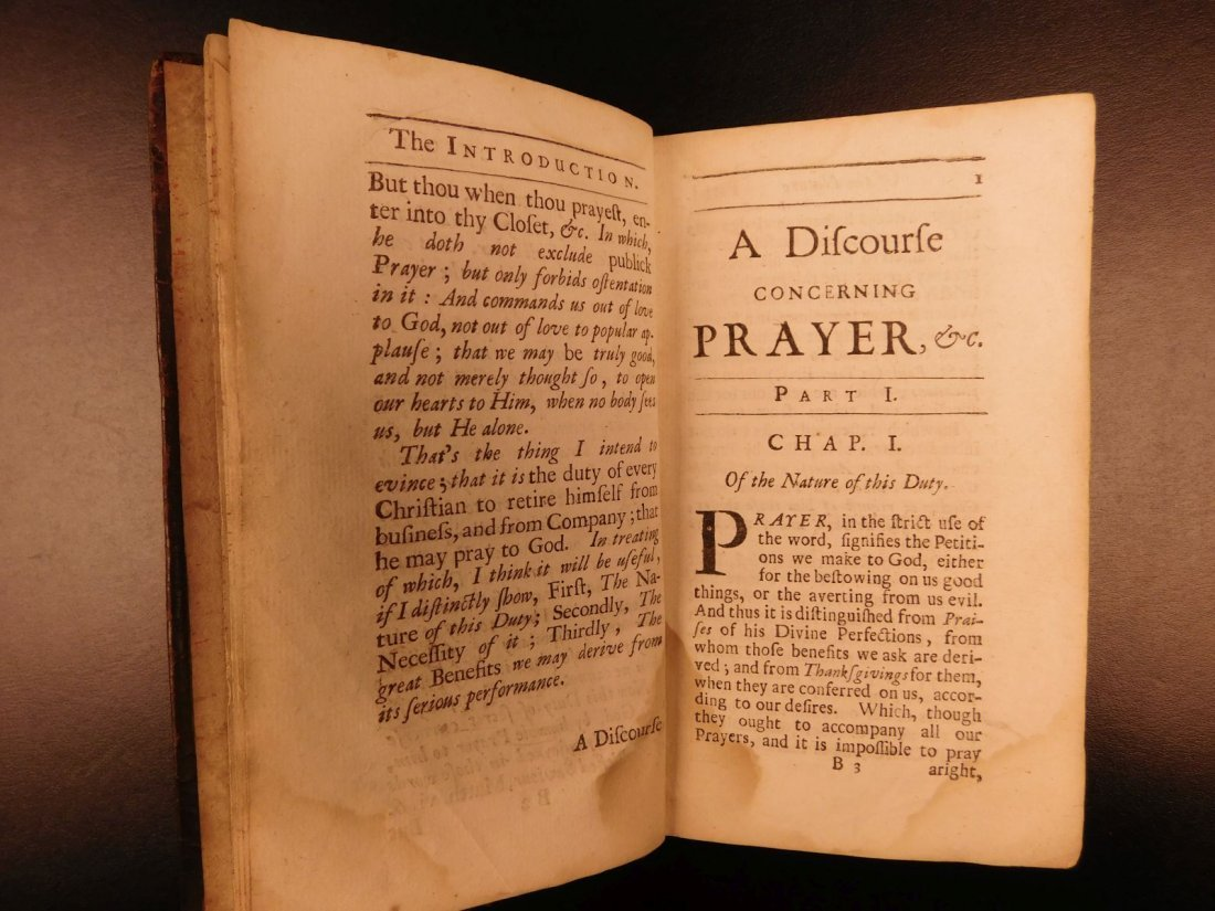 1686 1st ed On Prayer Simon Patrick Ireland Bibles - 4