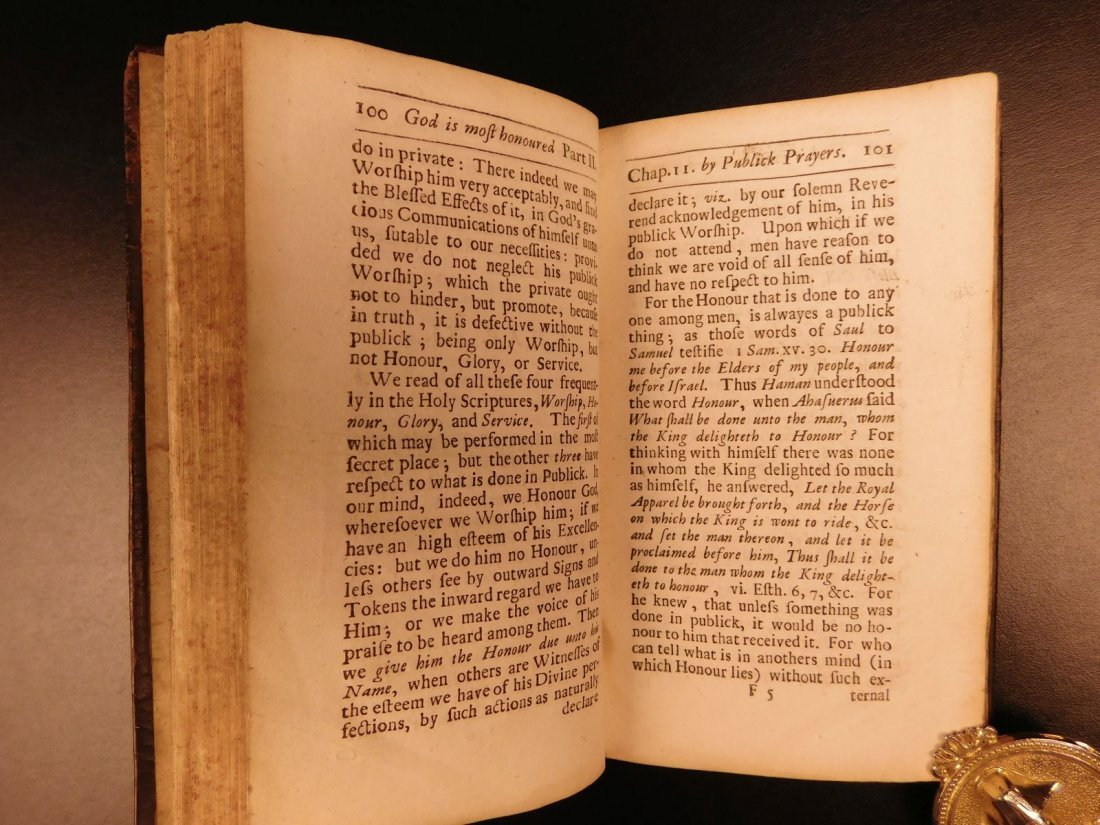 1686 1st ed On Prayer Simon Patrick Ireland Bibles - 6