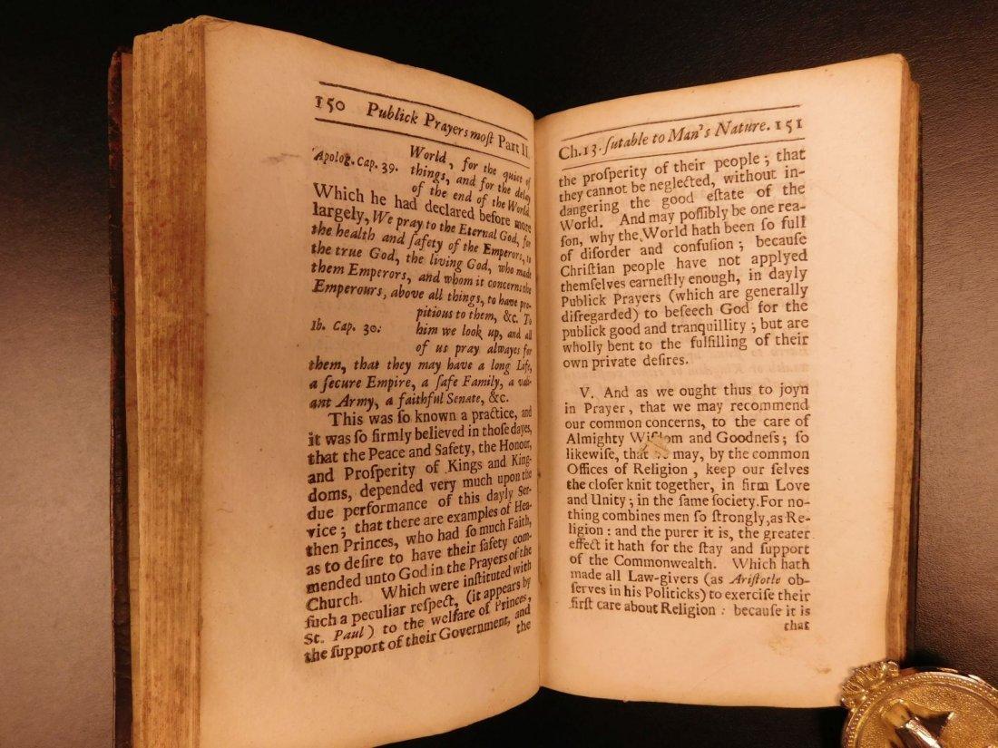 1686 1st ed On Prayer Simon Patrick Ireland Bibles - 7