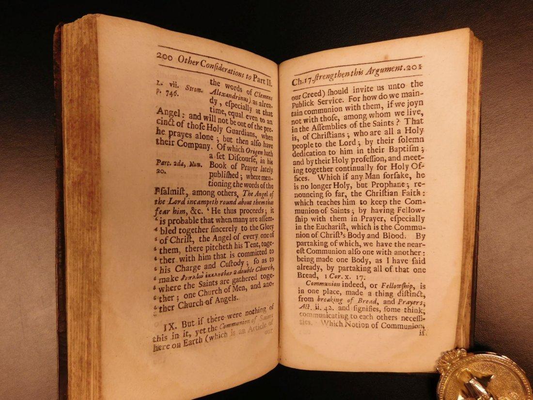 1686 1st ed On Prayer Simon Patrick Ireland Bibles - 8