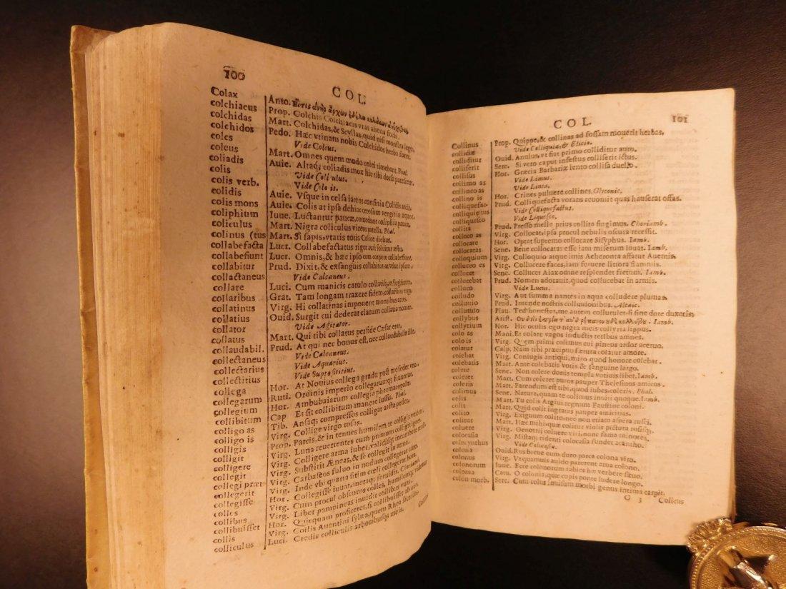 1627 Thesaurus Poeticus Smet Prosody Dictionary - 8