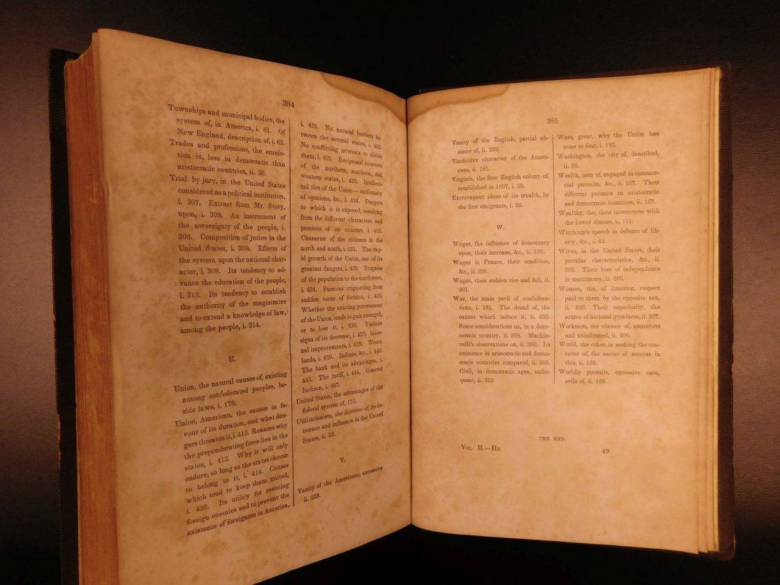 1841 Democracy in America Alexis de Tocqueville - 10