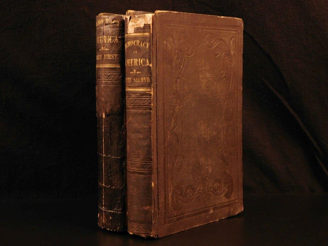 1841 Democracy in America Alexis de Tocqueville