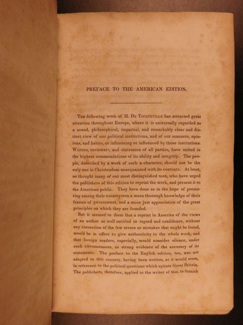 1841 Democracy in America Alexis de Tocqueville - 4