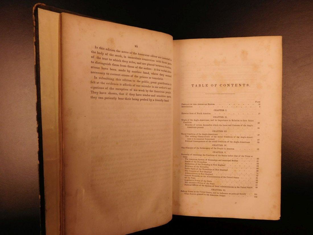 1841 Democracy in America Alexis de Tocqueville - 5