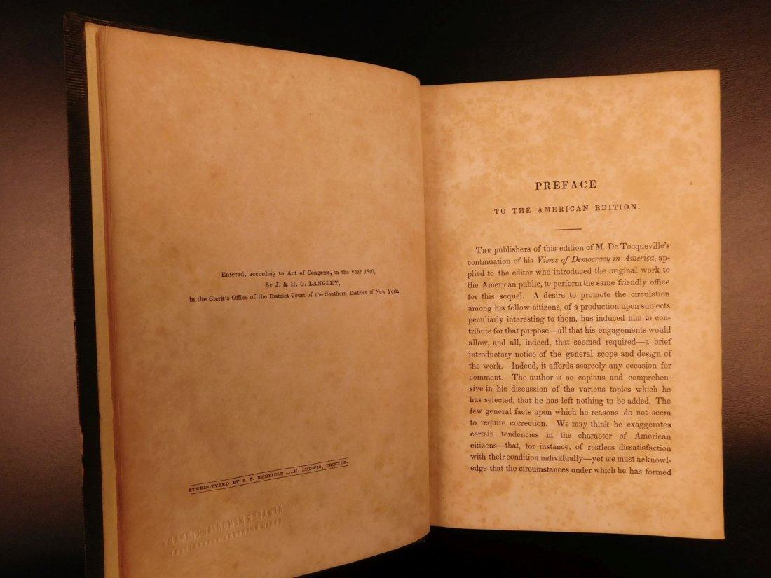 1841 Democracy in America Alexis de Tocqueville - 9