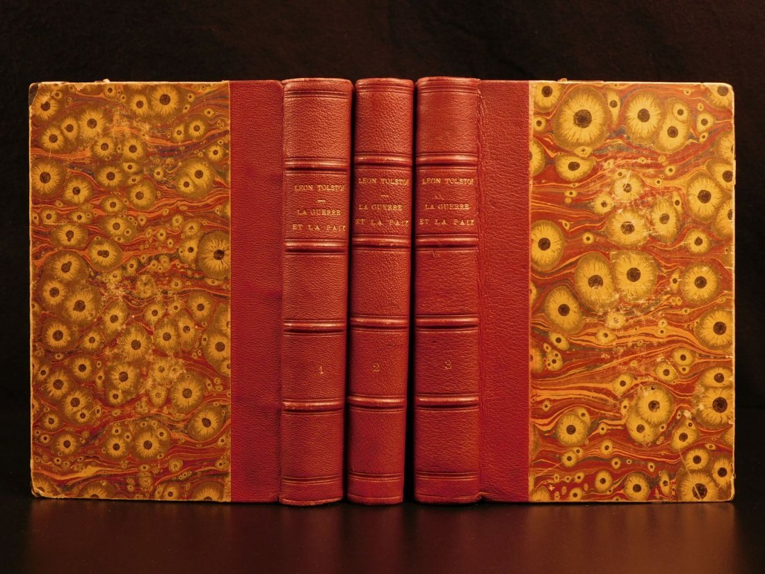 1891 Leo Tolstoy War and Peace Napoleonic Wars RUSSIA