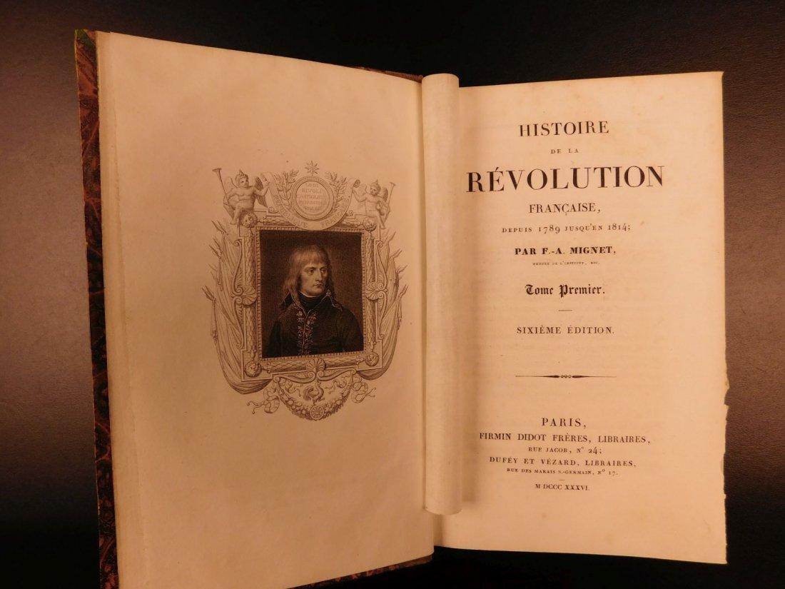 1836 Mignet on French Revolution Illustrated Napoleon - 3
