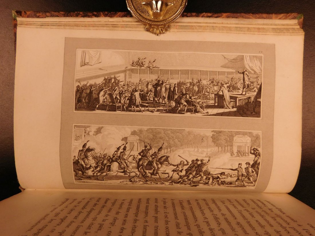 1836 Mignet on French Revolution Illustrated Napoleon - 4