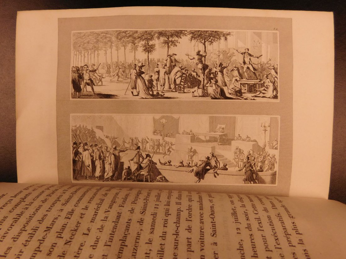 1836 Mignet on French Revolution Illustrated Napoleon - 5