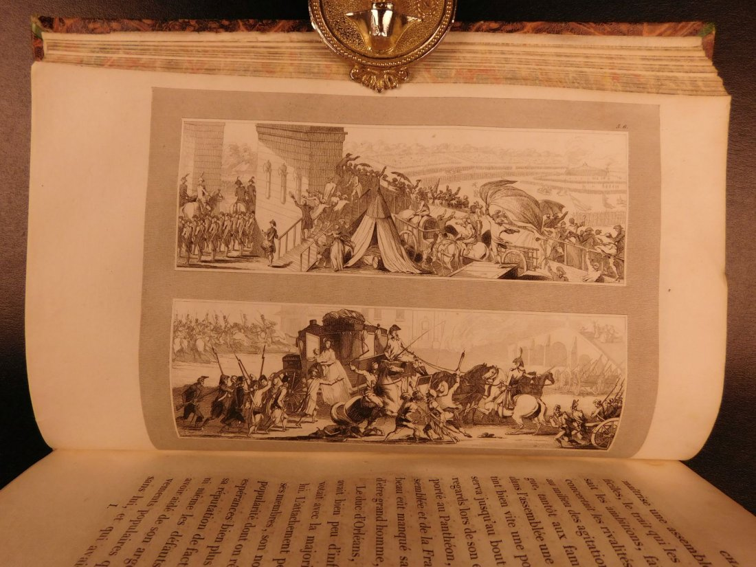 1836 Mignet on French Revolution Illustrated Napoleon - 6