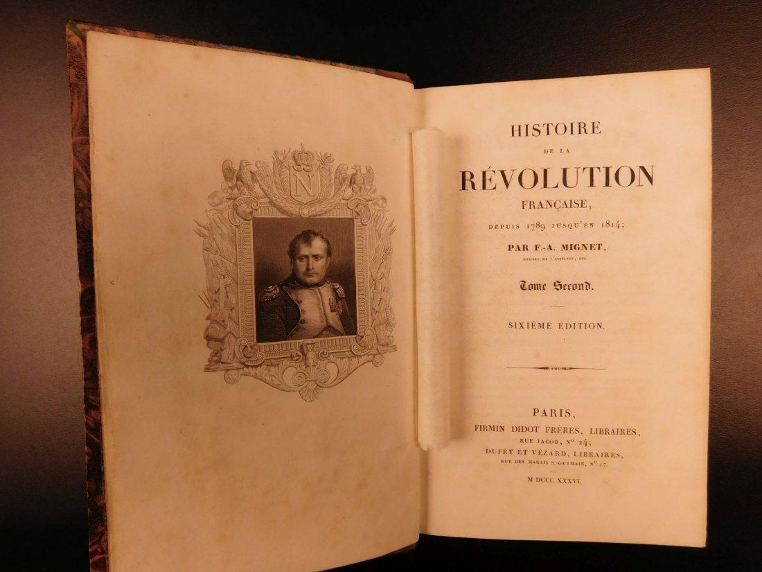1836 Mignet on French Revolution Illustrated Napoleon - 9