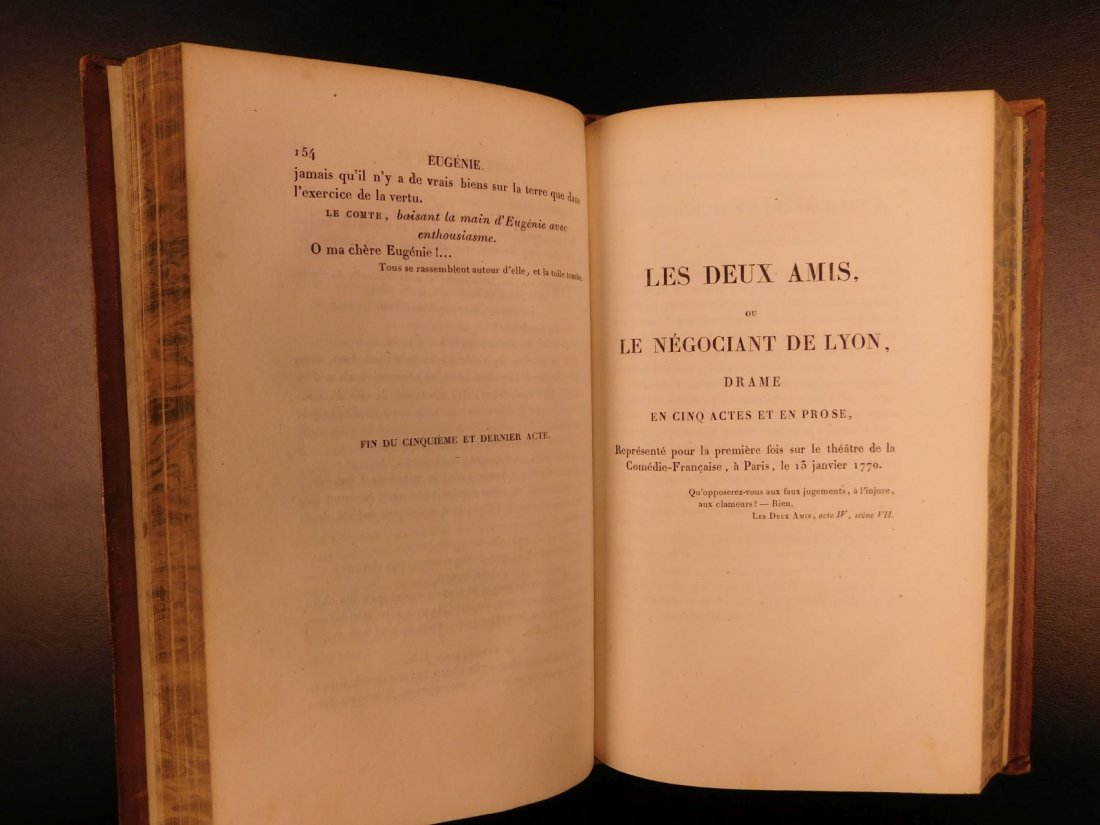 1829 Complete Works of Beaumarchais French Theatre - 7