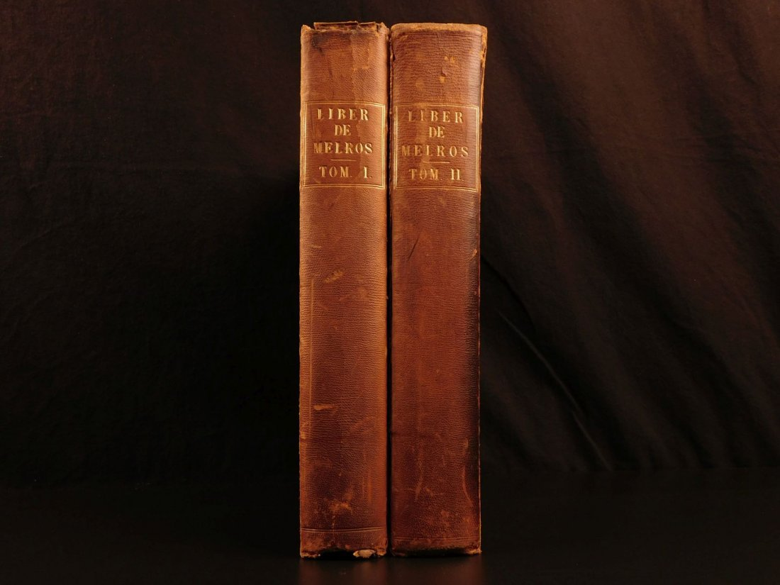 1837 1st ed SCOTLAND Liber St Mary Abbey of Melrose