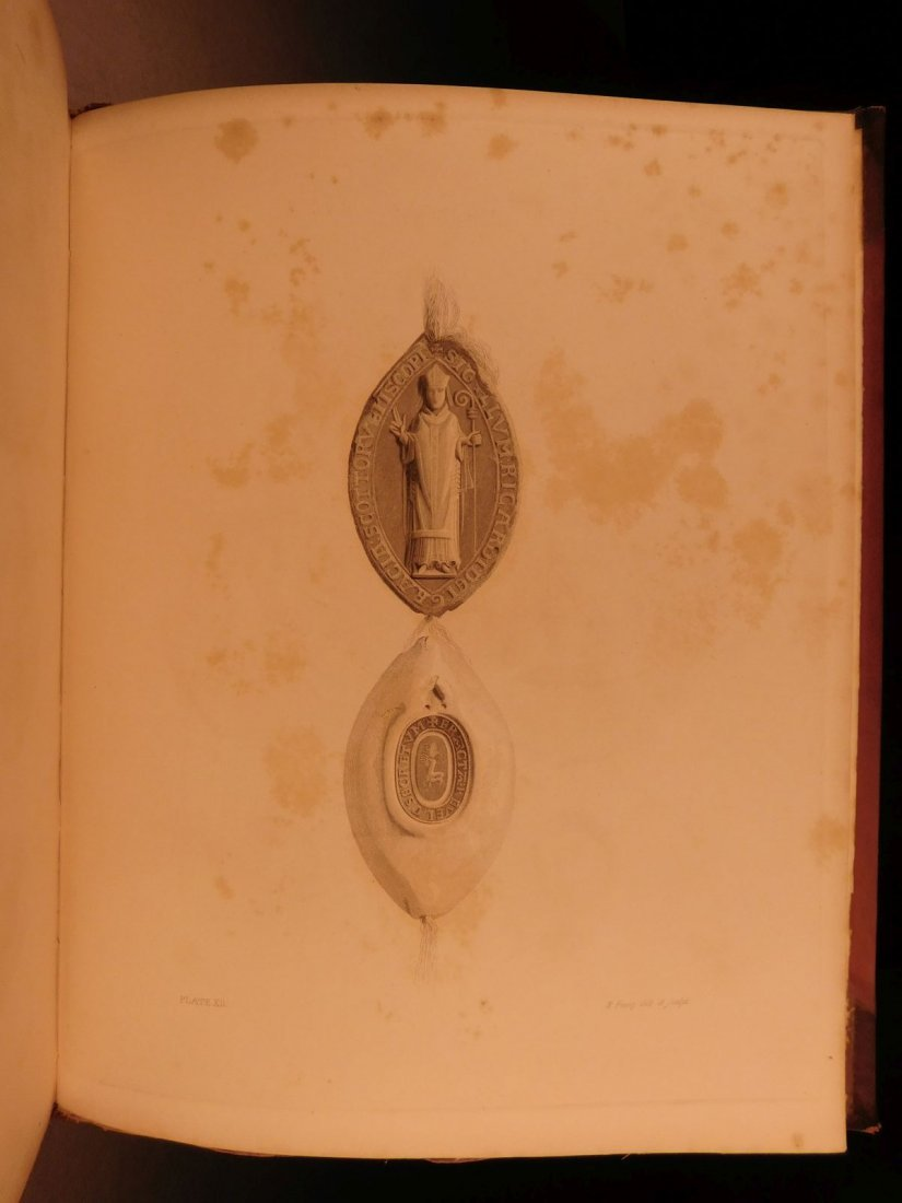 1837 1st ed SCOTLAND Liber St Mary Abbey of Melrose - 7
