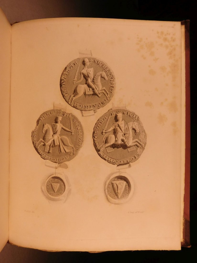 1837 1st ed SCOTLAND Liber St Mary Abbey of Melrose - 8