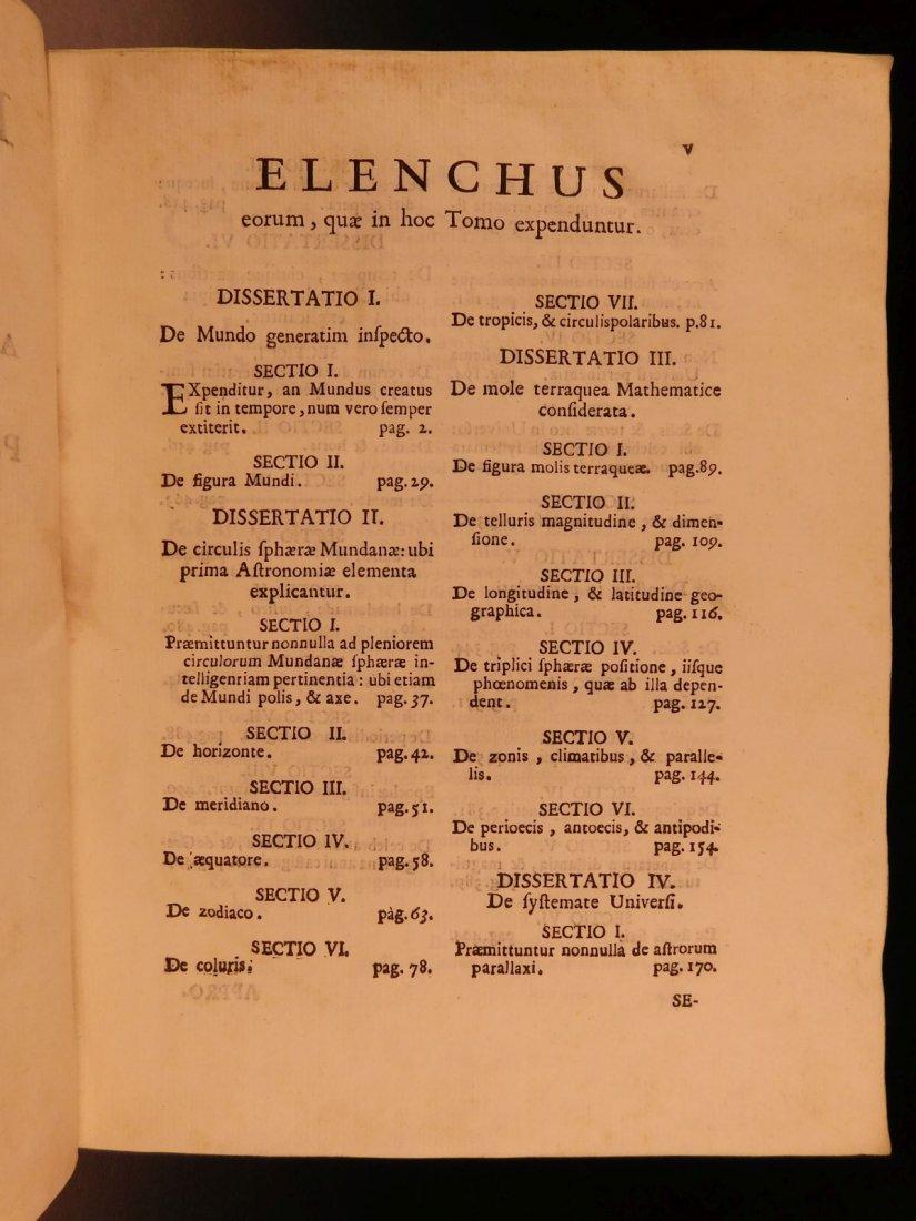 1747 Fortunati da Brescia Sensuum Mechanica Astronomy - 3