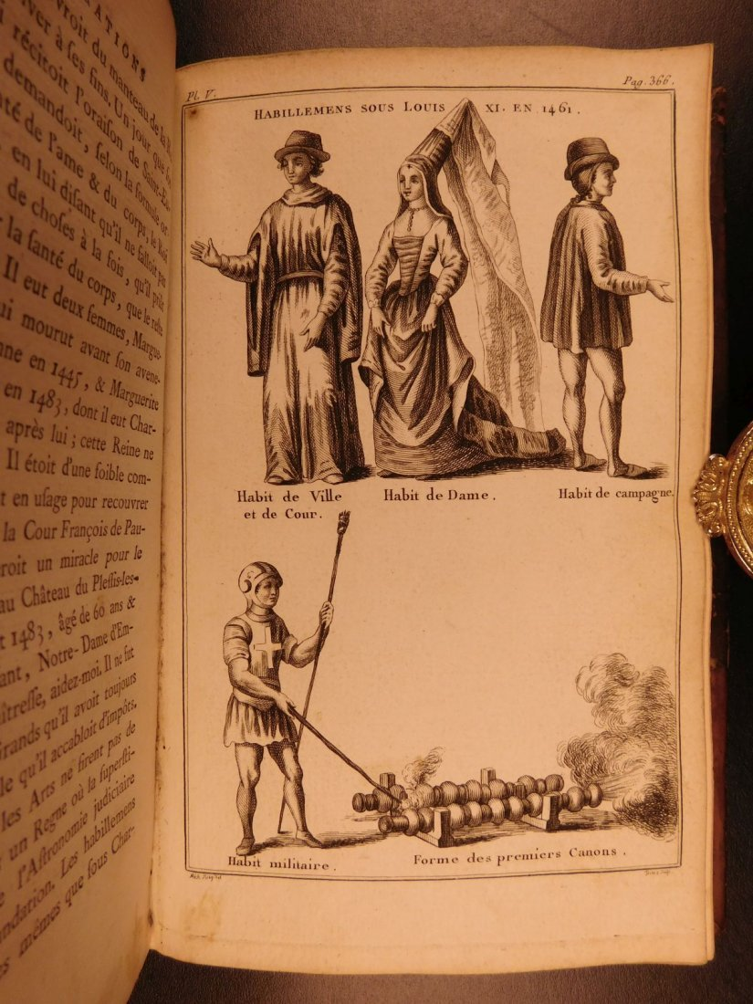 1776 1ed History of Royal Inaugurations Kings - 6