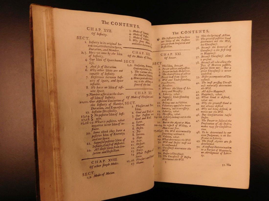 1731 John Locke Essay Concerning Human Understanding - 10
