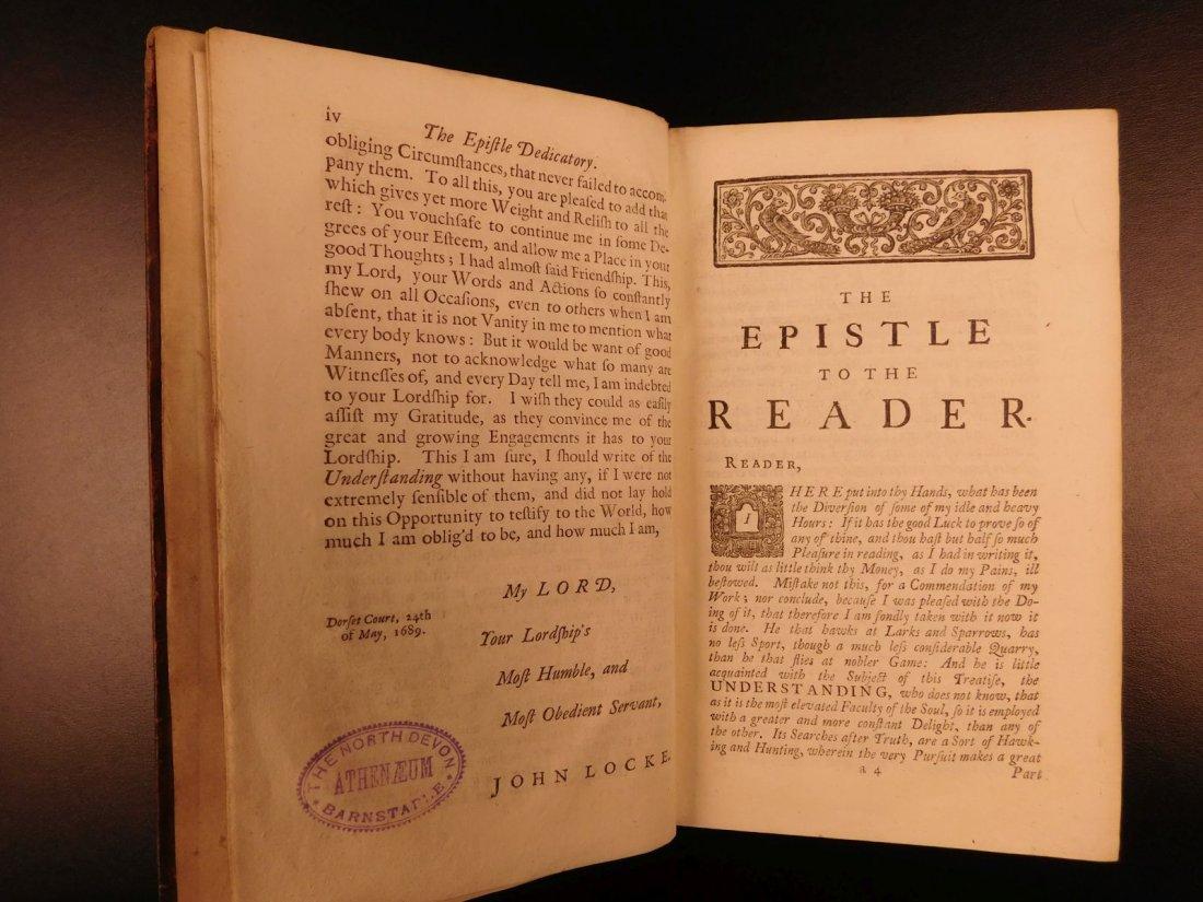 1731 John Locke Essay Concerning Human Understanding - 5