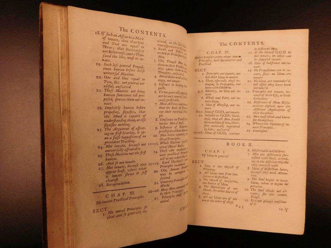 1731 John Locke Essay Concerning Human Understanding - 7