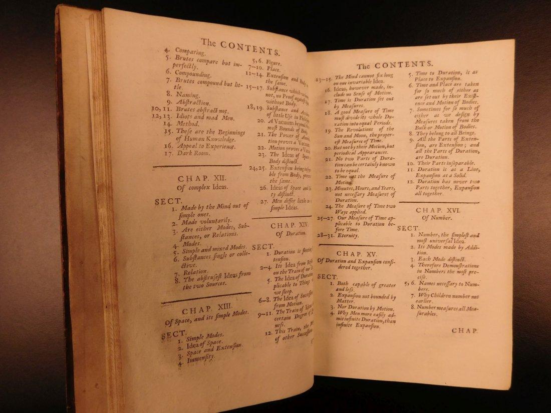 1731 John Locke Essay Concerning Human Understanding - 9