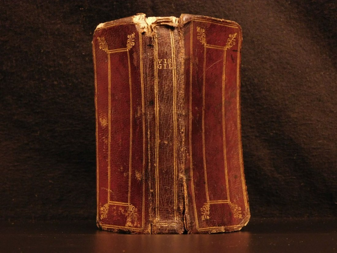 1624 Works of VIRGIL Bucolics Georgics Aeneid Mythology