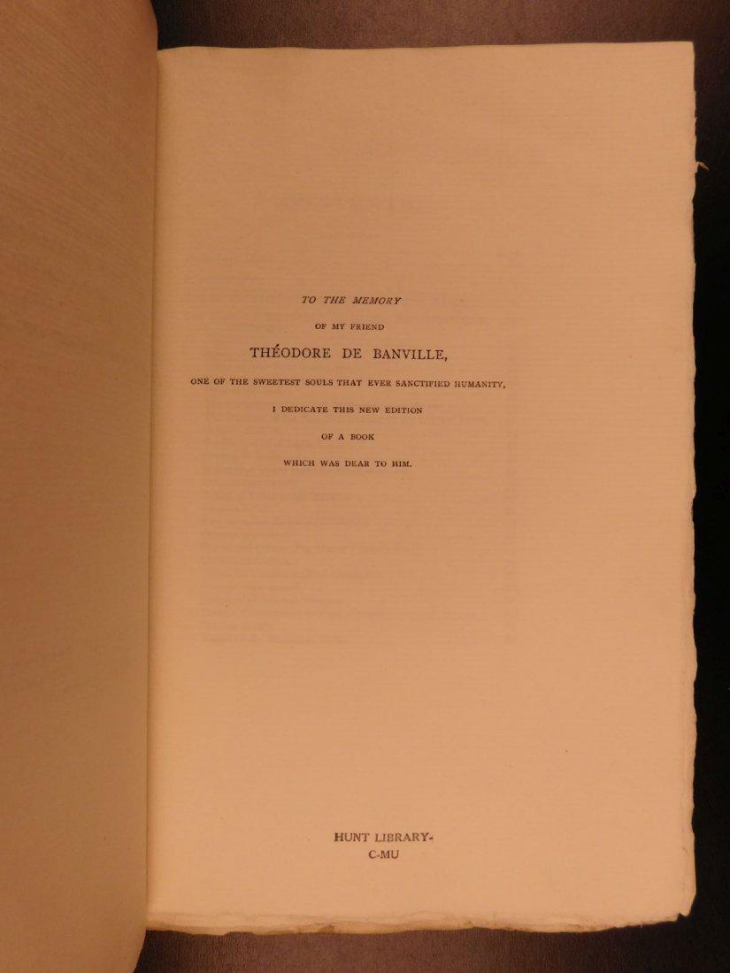 1892 François Villon Poems Criminal Middle Ages French - 3