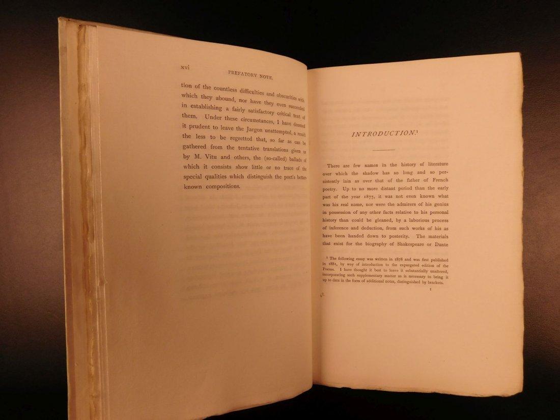 1892 François Villon Poems Criminal Middle Ages French - 6