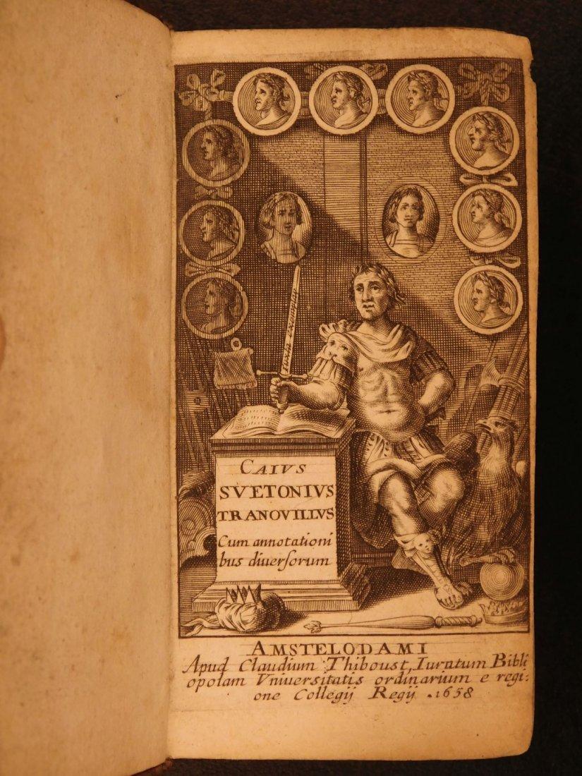 1658 Suetonius Twelve Caesars Julius Caesar Caligula - 2