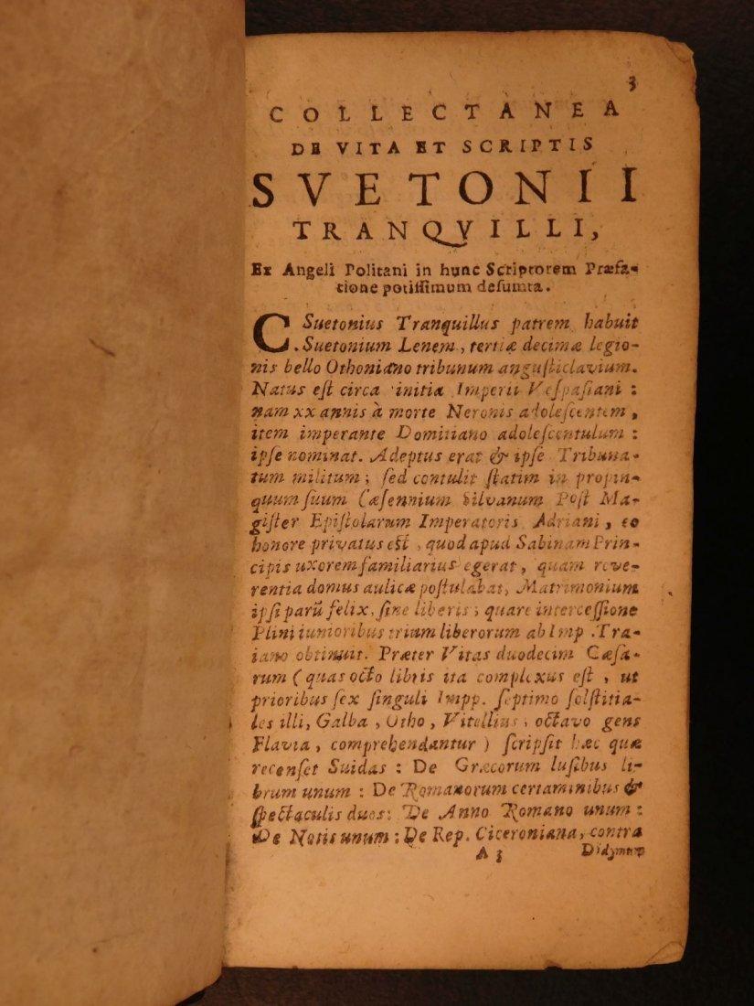 1658 Suetonius Twelve Caesars Julius Caesar Caligula - 3