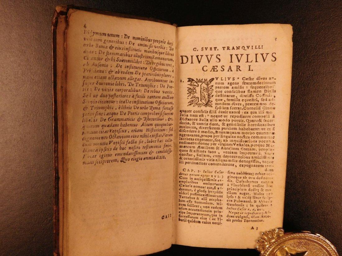 1658 Suetonius Twelve Caesars Julius Caesar Caligula - 4