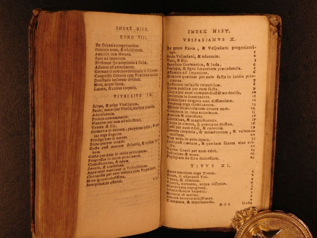 1658 Suetonius Twelve Caesars Julius Caesar Caligula - 9