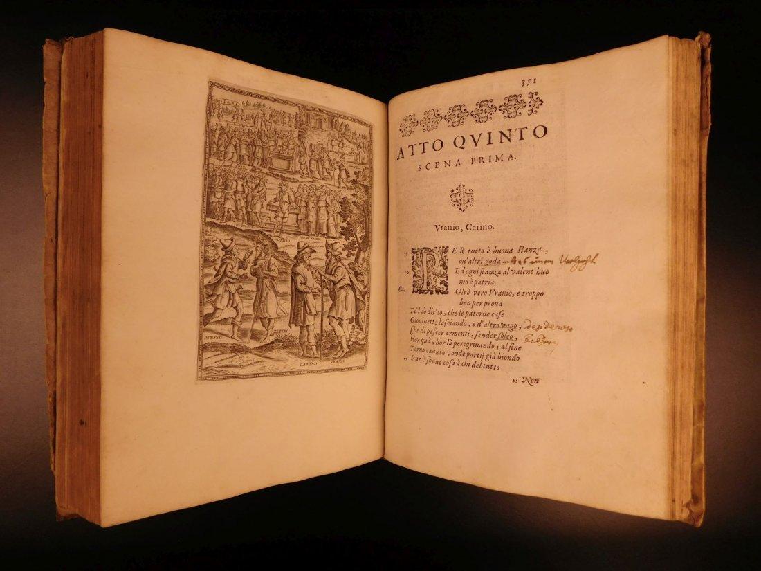 1605 Il Pastor Fido Guarini Italian Pastoral Tragic - 10