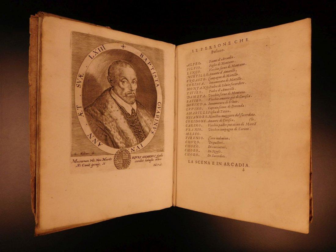 1605 Il Pastor Fido Guarini Italian Pastoral Tragic - 3