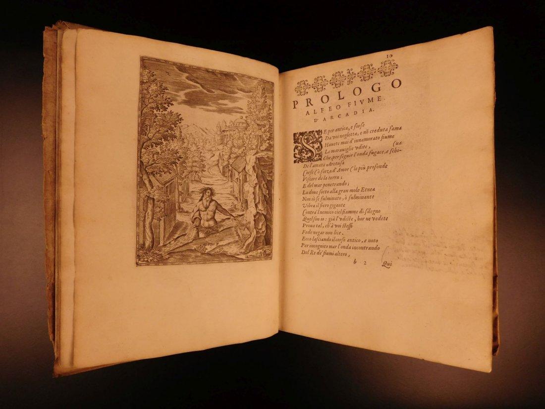 1605 Il Pastor Fido Guarini Italian Pastoral Tragic - 4