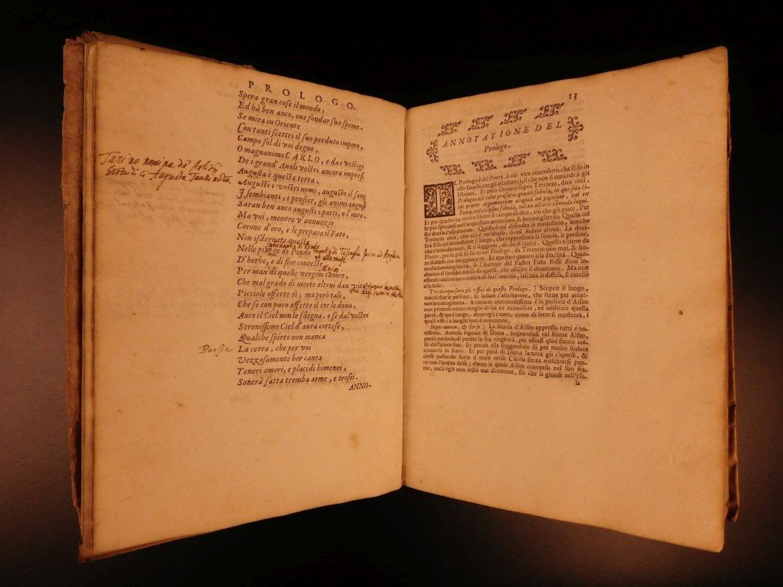 1605 Il Pastor Fido Guarini Italian Pastoral Tragic - 5