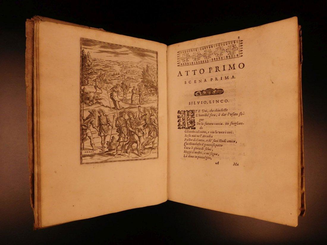1605 Il Pastor Fido Guarini Italian Pastoral Tragic - 6